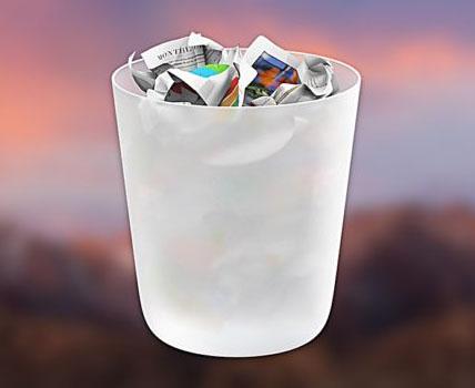 Come eliminare un singolo file dal cestino – Mac OsX
