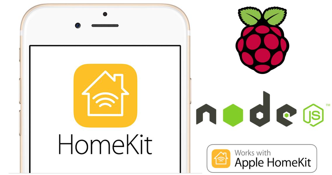 Apple HomeKit server su Raspberry Pi (HAP-NodeJS)