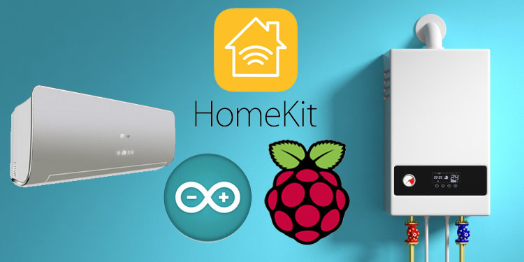 Controlliamo la caldaia e il condizionatore da Apple Homekit con HAP-NodeJS su Raspberry Pi e Wemos D1 mini via MQTT