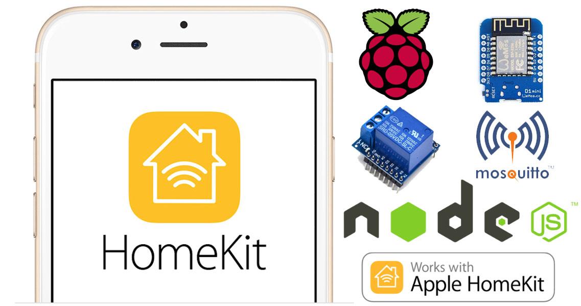 Controlliamo una presa elettrica da Apple Homekit con HAP-NodeJS su Raspberry Pi e Wemos D1 mini via MQTT