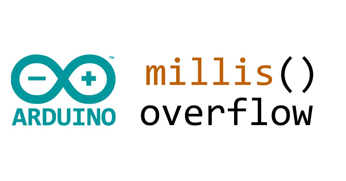Come gestire l'overflow della funzione millis() su Arduino